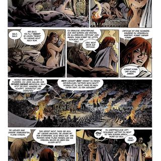 Vae Victis 15 Amber in Alesia - Cursum Perficio von Simon Rocca, Jean-Yves Mitton