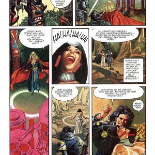 Trueno 1 Die Koenigin von Anubis von Victor Mora, John Burns