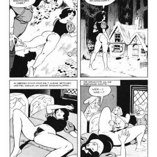 Schneekoenigin und die Sex Zwerge von Wallace Wood