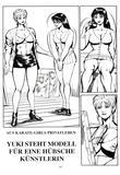 09 Yuki Steht Modell fuer eine Huebsche Kuenstlerin von Motoki